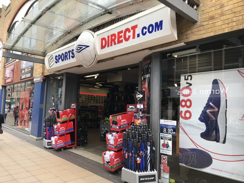 sports direct crawley